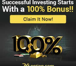 24Option – Top Binary Options Broker! 100% Deposit Bonus & Monthly Trading Contest!