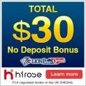 Hirose UK Broker – LION Binary Options – 30$ Free No Deposit Bonus, 20$ Minimum Deposit & 1$ Minimum Trade!
