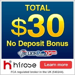 Binary options brokers no minimum deposit uk