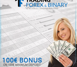 Trading Forex & Binary – Small Minimum Deposit & 100% Deposit Bonus!