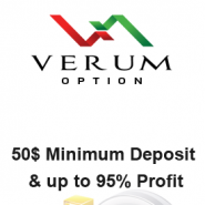 Verum Option Review – A Binary Options Broker for Beginners