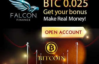 Falcon Finance Broker – Binary Options USA Customers Welcome and No Deposit Bonus!