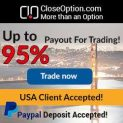 Close Option Broker – 20$ No Deposit Bonus, 5$ Minimum Deposit and Free Demo Account!