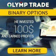 Olymp Trade Broker Review – Binary Options 10$ Minimum Deposit