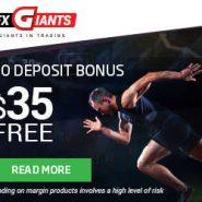 FXGiants Review – Forex No Deposit Bonus