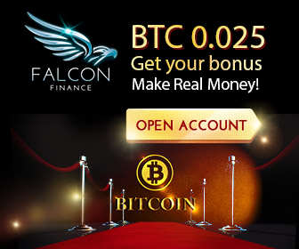 Falcon Finance Broker – Binary Options USA Customers Welcome and No Deposit Bonus!